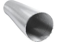 Alu Flexrohr 5m 100mm zweilagig, flexibles Aluminium Lüftungsrohr Flex Schlauch