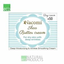 Nacomi Natural Shea Butter Day Cream for Dry Skin with Deep Wrinkles 50+ 50ml
