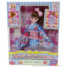 Takara Tomy Japan Studio Alice Licca-Chan Honey Shower Sunday Best Kimono Doll