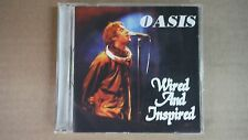 "Oasis ""Wired And Inspired"" Pro Sourced Silver Disc Cd-Brand New/Never Used!"
