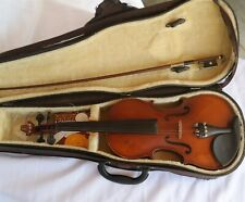 Vtg 1994 Discovery 3/4 Size Violin 410 model W/ Bow Andrew Schroetter Nice