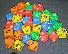 5 Sets of 7 Dice for RPGs Dungeons and Dragons Pathfinder games at a Great Price