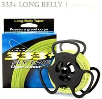Cortland 333+ 'Long Belly' Fly Fishing Fly Lines - Select Quantity & Line Weight