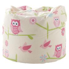 Children's Owls Twit Twoo Design Furniture & Bedding Bedroom Playroom Collection Beanbag