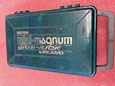 BS7 Plano Mini-Magnum Side-Kick 3215N Two-Sided Fishing Tackle Box Used Jigs too