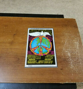 1970 BILL GRAHAM ROCK AND ROLL HANDBILL FLYER NEW YEARS OLYMPIC AUDITORIUM