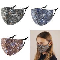 null KARAT Gesichtsmaske Maske Mundnasenmaske Ornament Japan 100 % Baumwolle