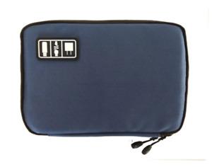 Cable Organiser Bag Gadget Accessories Case Travel Gadget Storage *NAVY BLUE* UK