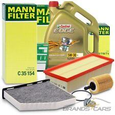 MANN-FILTER INSPEKTIONSPAKET+5L EDGE FST 5W-30 LL AUDI TT 8J 2.0 TDI BJ 08-14