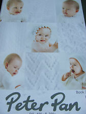 Peter Pan. Baby knitting pattern book 373, designs in double knit, 3 and 4 ply