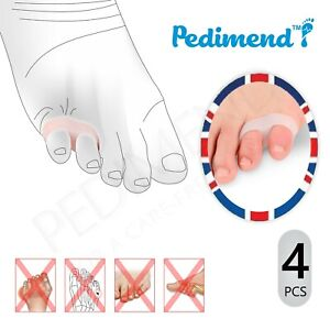 Soft Silicone Double Loop Toe Separators - Pinky Toe Spacer - Foot Care - UNISEX