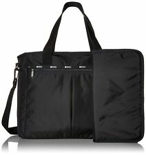 LeSportsac Ryan Baby Bag Diaper Tote with changing pad True Black NWT