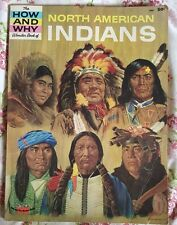 the How And Why Wonder Book of North American Indians 1965