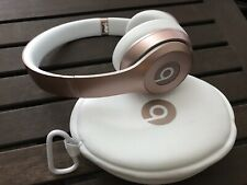 Beats by Dr. Dre Solo 2 Wireless Headphones with Case (B0534) - Rose Gold