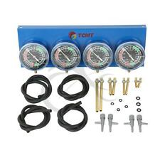 Motorcycle Universal Gauge 4-Carb Carburetor Carburetter Synchronizer Set kit