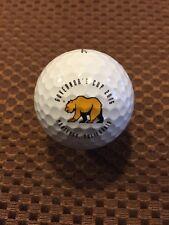 LOGO GOLF BALL-2016 GOVERNOR'S CUP..GOLDEN BEAR..MONTEREY,CALIFORNIA.PROV1 BALL.
