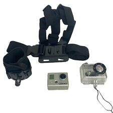 GoPro HERO 1 Action Camera w/ Waterproof Housing, Chest & Wrist Straps YHDC5170