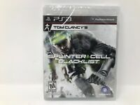 Splinter Cell Blacklist PS3 PlayStation 3