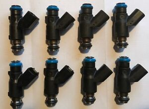 Set of 8 OEM BRAND NEW 6.0L Delphi Fuel Injectors 2010 2011 2012 2013
