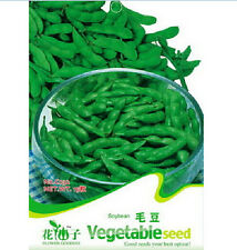 FD1290 Edamame Seed Soybean Seed Soy Bean Green Vegetable *1 Pack 20 Seeds* New