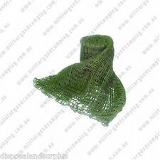 Scrim Net Sweat Cloth Olive Green Cadets Bushwalkers 1m x 1 m