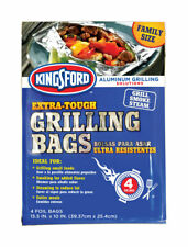 Kingsford Aluminum Grilling Bags 15.5 in. H x 10 in. W 4 pk