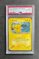 Pokemon PSA 10 Pikachu Skyridge #84/144 Gem Mint