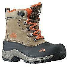 North Face Boys Winter Waterproof Boot Sz 3Y 200 Grams Insulation Retail $129