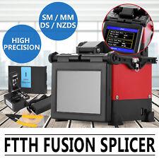 JW4108S Fusionadora de Fibra Óptica Cortadora Strippers empalmadora Encoladora