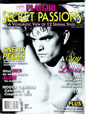 PLAYGIRL - SECRET PASSIONS - august 1998 - gay magazine