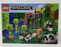 LEGO The Panda Nursery Minecraft (21158) New In Box Small Tear On Back