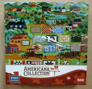 A 500 PIECE JIGSAW PUZZLES BY AMERICANA COLLECTION - QUILTS FOR SALE