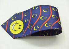 New Moons Be Happy Smile Design Tie