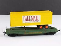 Tyco  Western Maryland  w/ Custom Pall Mall Trailer Flat Car 2475 HO Scale