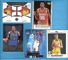 KEVIN DURANT ROOKIE CARD & RC JERSEY+ RUSSELL WESTBROOK RC & GAME USED JERSEY