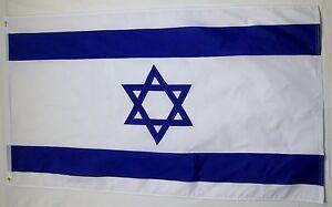 Israel Country Flag 3' X 5' International Banner