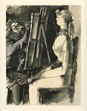 Pablo PICASSO lithograph, printed by Mourlot