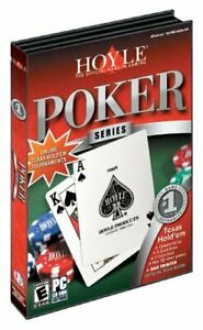 Hoyle Poker Series - 14 Poker Games - PC Card Games NEW (Disc in Sleeve)