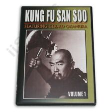 Gerald Okamura Chinese Kung Fu San Soo Kicking #1 Dvd New! mma grappling