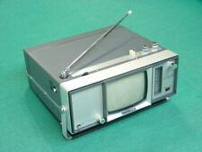 "#2 Vintage 1960's Crown CTV-12, 4"" Transistor Portable Micro TV, Global Shipping"