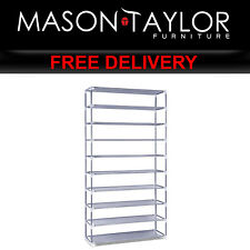 Mason Taylor 10 Tier Stackable Shoe Rack STACK-SHOE-SR-02