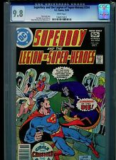 Superboy #244 CGC 9.8 (1978) & Legion of Super-Heroes Highest Grade White Pages