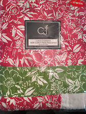 C&F Kahala Quilt TWIN Tropical Comforter NEW IN PACKAGE