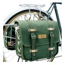 OSTRICH DLX Side Bag (One Side) For Bicycle 13L Green