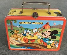 1954 Adco Liberty MICKEY MOUSE lunch box-HI GRADE BEAUTY!