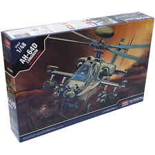 Academy 12268 AH-64D Apache Longbow Attack Helicopter Model Kit 1:48