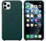 Verde bosque Funda Cuero Leather Case Apple Original para el iPhone 11 Pro Max
