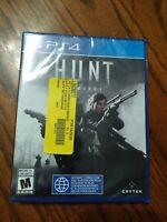 Hunt: Showdown - PS4 - Sony PlayStation 4 - Brand NEW - Sealed