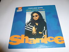 "SHANICE - I Love Your Smile (Driza Bone Remix) - 1992 7"" 2-track Vinyl Single"