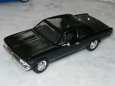 Maisto 66 Chevy Chevelle Ss 396 Gloss Black Or Metallic Blue You Choose 1:24